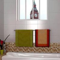 Eco-friendly pvc wallpaper mosaic plaid bathroom waterproof wallpaper