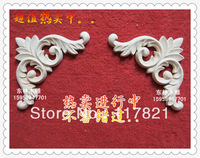 Chinese wood carving corner flower decals home accessories European solid wood furniture carved shavings jh-102-2