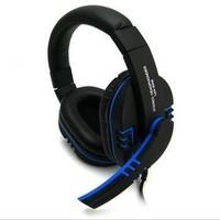 Free shipping Lp computer earphones headset stereo earphones headset high quality professional gaming headband earphones