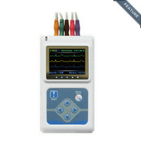TLC9803 3-Channel Holter ECG/EKG Recorder