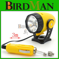 Car 12V 5 LED Magnetic REEL mini spotlight Torch Emergency Light Repair Lamp #3186