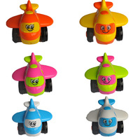 High Quality Fashion Plane!! 6 Pcs/Lot Plastic Airplane Model MINI Toys Color Boxed Best Gift Export Standard FREE SHIPPING 2013