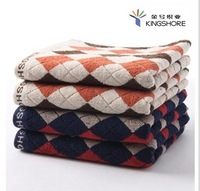 4pcs/lot Towel 100% cotton wash towel with plus size thickening absorbent soft hand feeling 35x78cm 106g