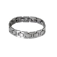 Male bracelet tungsten steel bracelet magnet male bracelet radiation-resistant male accessories jewelry