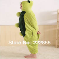 Performance Kigurumi Pajamas Animal halloween Cosplay Costume Fleece Pea cartoon sleepwear Free shipping  0928-3