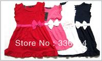 Free Shipping 2013 Cheap Fashion Girls Brand Polo Dress children/kids(1-5y)Princess tennis One-piece Dresses