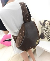 Рюкзак 2013 new Ms. bags fresh wind small pair of Japanese women's fashion leisure bag backpack bag PU backpack