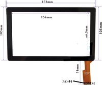 Zhc q8 057a tablet touch screen handwritten screen touch