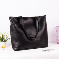 2013 fashion fashionable casual all-match black shoulder bag handbag women's handbag big bags