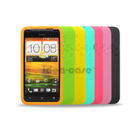 Fashion honeycomb ring silica gel protective case  ultra-thin phone case for HTC T327D T328D T329D