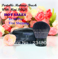 New  Single Professional Makeup Brush  Cosmetic Brush with MINI Bags Portable brush  Free Shipping of DHL