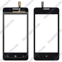 New Touch Screen Digitizer For Huawei Ascend W2 Black Parts+ Free Hongkong Tracking