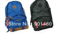 NEW HOT SALE Supreme shoulder bag backpack schoolbag school bag BLACK RED BLUE