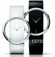 2014 new Fashion  Women's Black Lovely  watches Dress Analog Gifts Quartz Hour Clock Wrist Watches free shipping
