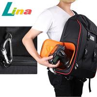 Free DHL Caseman Professional Multifunction Camera Backpack Shoulder Bag Waterproof Case For DSLR Camera Outdoor