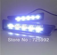 LED Daytime Running Light for TOYORA PRADO DRL Free Shipping By EMS