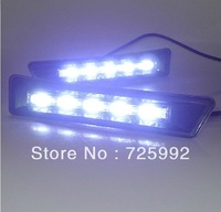 LED Daytime Running Light for TOYORA PRADO DRL Free Shipping By EMS