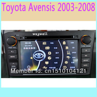 car dvd player for Toyota Avensis 2003-2008