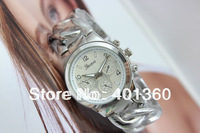 Drop shipping,Hot Sale 4colors Fashion Geneva Classic Alloy Luxury Women Ladies' Wrist Watch Wristwatches