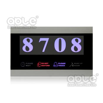 electrical hotel door bell/touch panel hotel doorbell system,hotel room control panel,door chime