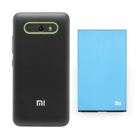 Original  Xiaomi M2, M2S Battery 3100 mAh + Special Back Cover Case  Mi2, Mi2S Free Shipping