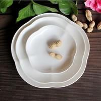 White style dish ldquo . rdquo . dish salad plate bowl 4 western cutlery