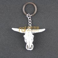 12pcs Travel Souvenir South Africa Jewelry Bone Keychain Creative Lucky Yak Keyring Tauren K0265
