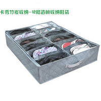Home supplies bamboo charcoal storage box ka cirque du soleil 12 shoe storage transparent storage box ewel