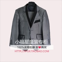 Quality 2014 children's clothing blazer male child blazer set child formal dress performance wear