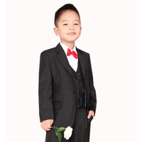 new 2014 boys blazers kids clothing set formal dress boy compound fabric suits 6 pcs / set