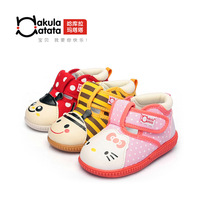 Spring new arrival tata hm skidproof cartoon baby shoes toddler shoes 63051080 sound