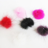 Fur ball fabric mobile phone rhinestone pasted handmade phone case diy material accessories kit hair accessory accessories