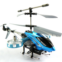 Alloy model remote control four channel remote control helicopter toy