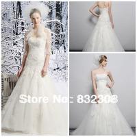 Sweat heart A-line Trumpet Lace Applique Wedding Dress