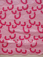 Free Shipping African French Lace fabric,Handcut Afrcan Lace fabric, embroidery lace, 5yards/piece,BABY PINK