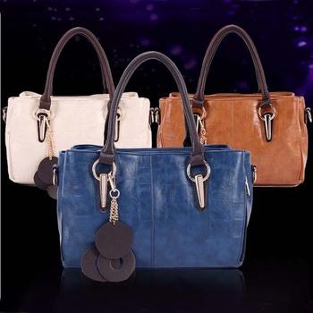 2014 fashion women handbag Genuine leather Crocodile Grain Messenger bags designer handbag brand bolsas femininas