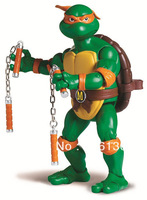 "Free Shipping TMNT Teenage Mutant Ninja Turtles Michelangelo 6"" Action Figure PVC"