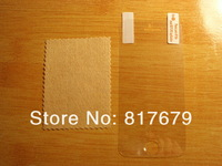 Free Shipping 100PCS For iPhone 5S Clear Screen Protector Guard LCD Protector Film Front+Back+Cloth Support Dropship