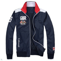2013 Hot Brand Polo Jacket Sports Jackets For Men Fashion polo shirt Full Sleeve Men Clothing /overcoat/outwear