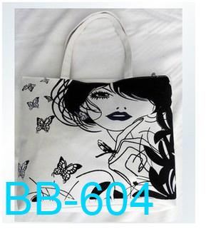 2013 Hot sale Free shipping New style print women shoulder bag hangdbag lady handbag shopping bag Retail/wholesale BB-604