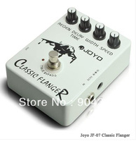 Free Shipping In Stock OFFICIAL Joyo Audio Effect JF-07 Classic Flanger Bypass Drive Pedal Guitar NEW