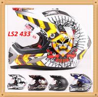 LS2 MX433 capacetes unique off road motorcycle Helmet motorcross helmets with visor