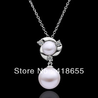 Freeshipping(Min.Order Is $15) 2013 Fashion necklaces wholesale 18k gold necklaces pendants crystal necklace for women N521