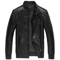 Kzoe men's clothing 2012 fashion sheepskin jacket male genuine leather clothing outerwear 1854