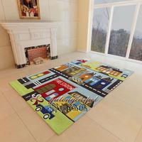 Eleomargaric carpet handmade pure wool carpet child pattern child real