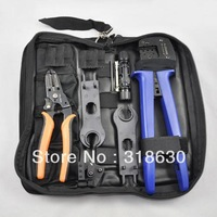 Solar Crimping Tool kits / Solar PV Tool Kits for MC3/MC4 Connector , Crimping/Cutting/Stripping and Test wire.Free shipping.