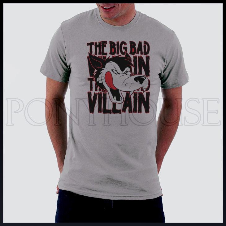 Homens JabbaWockeeZ lobo vilão de manga curta T -shirt novo camiseta Marca chegada Moda para homens 2013 verão(China (Mainland))