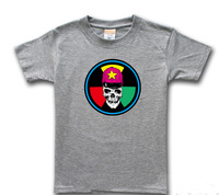 Hat multicolour 6 Men skull t-shirt hiphop metal plus size