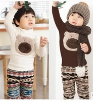 FREE SHIPPING wholesale girls children's kids Clothing suits spring autumn winter sets  baby  clothes basic suits