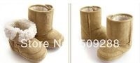 FREE SHIPPING For 6M~24M Winter Warmer Baby Snow Boots 4pairs/lot Baby boots